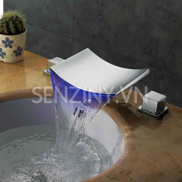 Voi lavabo cao cap Seductive Curve sz8805-22a blue
