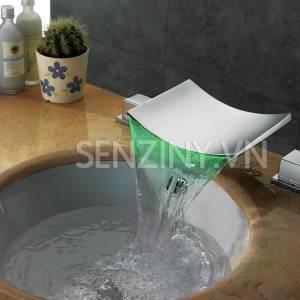 Voi lavabo cao cap Seductive Curve sz8805-22a green