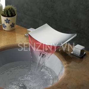 Voi lavabo cao cap Seductive Curve sz8805-22a red